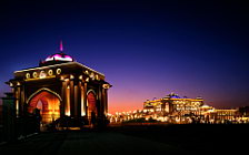 Emirates Palace Hotel Abu Dhabi wide wallpapers