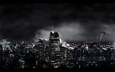 Fantastic night city wide wallpapers