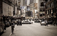 New York street wide wallpapers