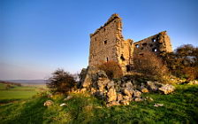 Castle ruins wide wallpapers