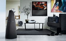 Bang & Olufsen BeoVision 10 40 with BeoLab 9 BeoLab 2 BeoCenter 2 and Beo6 обои HD и широкие обои для рабочего стола
