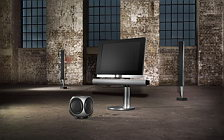 Bang & Olufsen BeoVision 7 40 with BeoLab 7 2 and BeoLab 8000 and BeoLab 2 sub woofer обои HD и широкие обои для рабочего стола