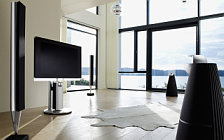 Bang & Olufsen BeoVision 7 40 with BeoLab 7 4 and BeoLab 8000 and BeoLab 9 обои HD и широкие обои для рабочего стола
