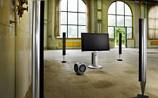 Bang & Olufsen BeoVision 7 40 with BeoLab 7 4 and BeoLab 8002 and BeoLab 2 обои HD и широкие обои для рабочего стола
