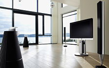 Bang & Olufsen BeoVision 7 40 with BeoLab 7 4 and BeoLab 8002 and BeoLab 9 обои HD и широкие обои для рабочего стола