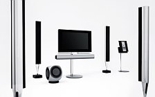 Bang & Olufsen BeoVision 7 with BeoLab 8002 and BeoLab 2 and BeoSound 3200 обои HD и широкие обои для рабочего стола