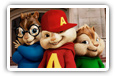 Alvin and The Chipmunks - The Squeakquel кино обои на рабочий стол